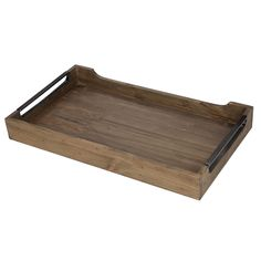 Sycamore Forest Brown Wood and Metal x x Tray Sycamore Forest Wood Tray) Garden Accessories, Decorative Accessories, Wholesale Home Decor, Wood Tray, Traditional Furniture, Tray Decor, Brown Wood, Made Of Wood, Home Decor Outlet