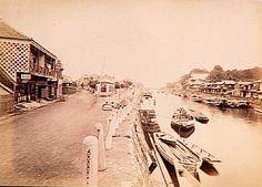 Yokohama overview - Japan - 1880s-90s  Source : Musée Guimet, Paris Nippon-Graph
