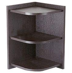 eckregal stand holz platzsparendes design wohnzimmer. Black Bedroom Furniture Sets. Home Design Ideas