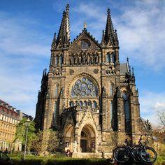 Frühlingsimpression: Peterskirche in #Leipzig