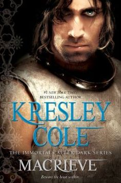 MacRieve by Kresley Cole Immortals After Dark Series