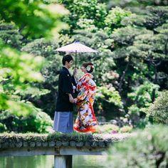 新しいロケ地紹介です(*^^*)✨ 神戸の相楽園です 神戸ですが大阪から40分ほどです 緑がいっぱいで今はつつじが見頃です✨ 撮影spotはメインの橋です(*^^*)‼️ Instagram 期間限定 ホームページ作成用のモデル様募集☆ 色打掛・白無垢・綿帽子など全てロケーション撮影です。 データを広告媒体に使用しても良い方。…
