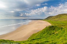Swansea's Rhossili Bay on the Gower Peninsula was the only European beach voted onto Suitc...