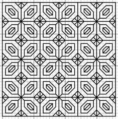 Blackwork Fill Pattern - imaginesque.blogspot.co.uk