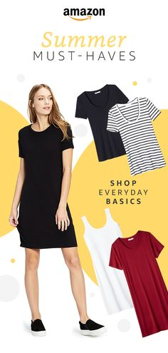 It's time for better basics. From simply chic tees and tanks to dresses and leggings, we have a range of looks for a price you won't believe. Check out Daily Ritual only on Amazon.