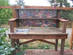 Jackie's Garden Outdoor Sinks, Outdoor Furniture, Outdoor Decor, Garden, Home Decor, Garten, Decoration Home, Room Decor, Lawn And Garden