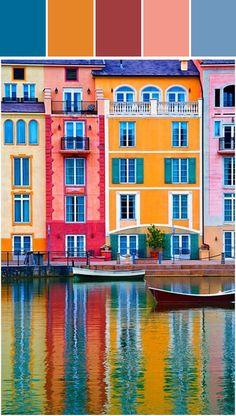Portofino Hotels, Orlando / Lester Garcia Designed By Lisa Perrone | Stylyze Creative Director via Stylyze