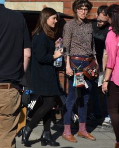 On Set: May 2nd, 2013 - onset 05022013 4 - Jenna-Louise Coleman Online