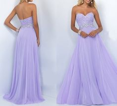 Custom Charming Lilac Long Prom Dress,Sexy Sweetheart Evening Dre