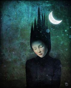 Surrealisme i art: Christian Schloe / Surrealismo y arte / Surrealism and art: Christian Schloe Digital Painter, Digital Art, Sculpture Textile, Illustrator, Wassily Kandinsky, Moon Art, Art Plastique, Surreal Art, Stars And Moon
