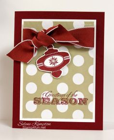 Stamp 4 fun with Selene Kempton: 12/3 Season of Style, Christmas Collectables, Greetings of the Season