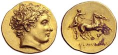 An Excessively Rare and Magnificent Greek Gold Stater of Philip II, King of Macedon, From the Famed Kunstfreund Collection
