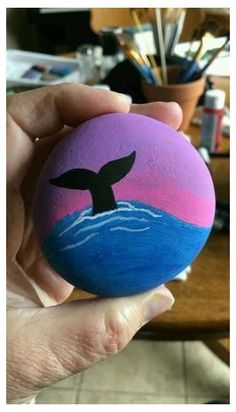 Rock Painting Patterns, Rock Painting Ideas Easy, Rock Painting Designs, Easy Paint Designs, Rock Painting Kids, Pebble Painting, Pebble Art, Stone Painting, Image Painting