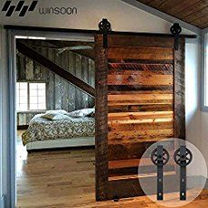 Add the farmhouse style to your home with these sliding barn door ideas! There are so many barn door styles and barn door designs to choose from so use our guide to help you decide the right barn door decor for you.