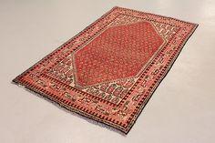 Red 4' 0 x 6' 8 Botemir Rug | Persian Rugs | eSaleRugs