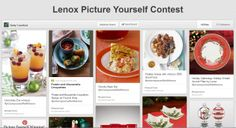 http://www.pinterest.com/luckybluecat/lenox-picture-yourself-contest/ #lenoxholiday