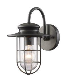 Portside 1 Light Outdoor Wall Lantern