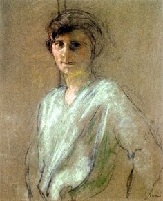Portrait of Irene Montanet / Edouard Vuillard - circa 1927