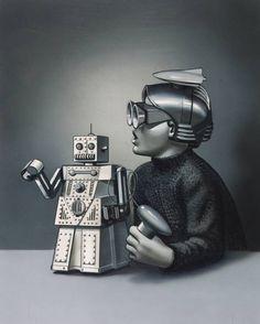 Sir Eduardo Paolozzi 'Wonder Toy: Robert the Robot', 1971 © The estate of Eduardo Paolozzi