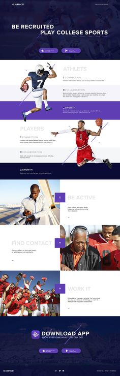 Sport Landing Page made by Zhenya&Artem in .psd and .sketch and in three different sizes.