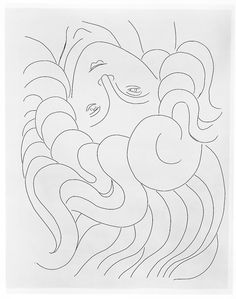 """""""Poésies"""" by Stéphane Mallarmé, with 29 etchings by Henri Matisse (published by Albert Skira et Cie, Lausanne, 1932)"""