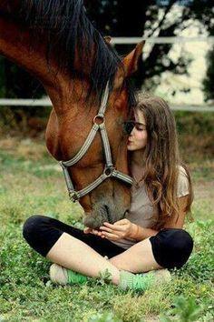 Love for horses.