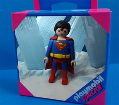 mi superman en version playmobil custom de superman the movie