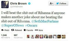 Oh dear Chris Brown.