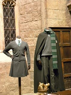 For Halloween: Harry Potter studio tour: Slytherin costumes by Rev Stan, via Flickr