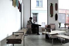 Viktor cafe gallery workspace Antwerp