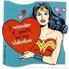 Wonder Woman Valentine...