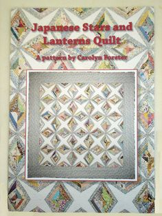 BOOK- JAPANESE STARS AND LANTERNS QUILT
