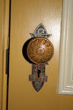 Winchester House door knob