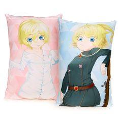 Saga of Tanya the Evil Tanya Degurechaff Rectangle Pillow Cushion 45*70cm