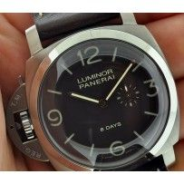 PANERAI PAM368 LUMINOR 1950 8-DAYS DESTRO  Limited to just 1000 units, this PANERAI PAM368 LUMINOR 1950 8-DAYS DESTRO is a BRAND NEW unworn watch. The watch is keeping perfect time well within COSC specs and comes complete with boxes and papers.
