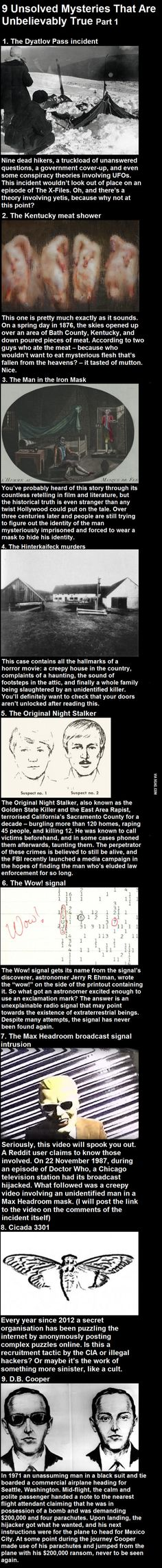 9 Unsolved Mysteries That Are Unbelievably True - 9GAG