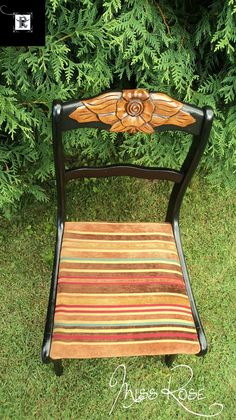 Redo It Yourself Inspirations : Chair Makeover: Miss Rose