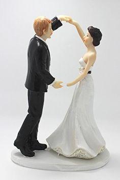 Exquisite Bride and Groom Couple Figurine Cake Topper Exquisite http://www.amazon.com/dp/B00P70UQJI/ref=cm_sw_r_pi_dp_Tv9Rvb16WAHJ1