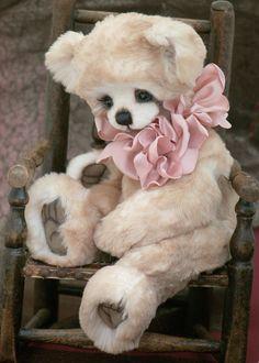 Three O'Clock Bears: Tia Maria...my newest bear!