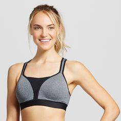 536b4e62f0032 Women s Power Shape Sports Bra - C9 Champion Black Heather XL Gender   Female. Age