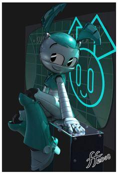 Мультик девочка робот порно
