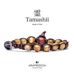 Tamashii - Bracciale Tradizionale Tibetano Occhio Di Tigre (Golden Tiger Eye)
