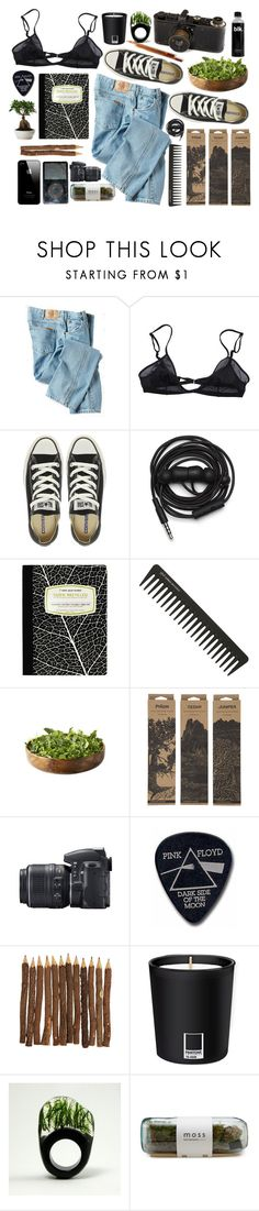 """Four Sticks"" by purite ❤ liked on Polyvore featuring Dickies, Bllack by Noir, Converse, Urbanears, GHD, Jayson Home, Nikon, Floyd, Leica and Pantone"