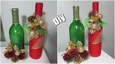 Centro de mesa de Natal fácil | Arranjo para mesa posta | DIY Enfeite para Réveillon - YouTube