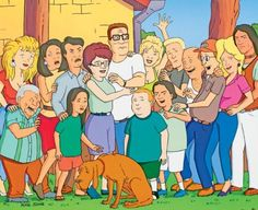 King of the Hill! Always a favorite at my house.