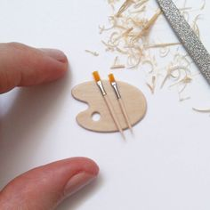 Miniature paint brushes By Selma