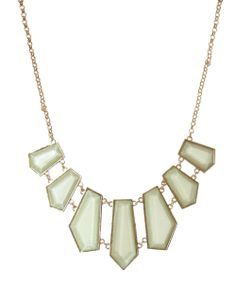 Sparkly Jewelry is on every wish list! bootlegger.com : kismet pastel green geometric necklace Sparkly Jewelry, Geometric Necklace, Arrow Necklace, Fashion Beauty, Pastel, Diamond, My Style, Green, Silver