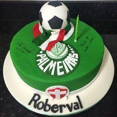 Mais um bolo do Palmeiras com muito chocolate!  #wowdoces #bolopalmeiras #bolodecorado #pastaamericana #sugarcraft #palmeiras #bolo #futebol #delicia #fondant #cakedesign