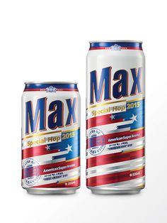 Max Special Hop 2015  American Super Aroma is the craft beer which contains Centennial Hop, that gives strong flavor of citrus aroma. The visual motif 'star' and the color scheme 'red' 'blue' came from the national flag of USA. The Godness of liberty was visualized as well.