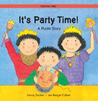 The March 2014 book from PJ Library for ages 2 and 3.